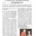L'univers impitoyable d'Antigone